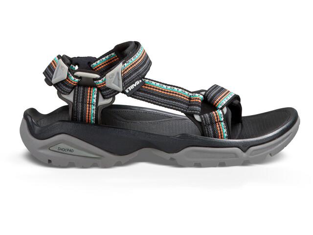 Teva Terra Fi 4 Sandals Women La Manta Black